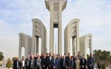 افتتاح بزرگترین نماد دانشگاهی کشور در دانشگاه صنعتی اصفهان + گزارش تصویری