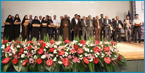 آئین گرامیداشت روزکارمند و تجلیل ازکارکنان نمونه دانشگاه صنعتی اصفهان برگزار شد + گزارش تصویری