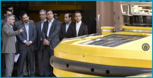 بازدید رئیس مرکز طرح های کلان ملی فناوری از دو دستاورد ملی دانشگاه صنعتی اصفهان + گزارش تصویری