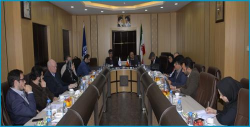 بازدید نمایندگان سازمان کنفرانس توسعه و تجارت سازمان ملل (آنکتاد) ازدانشگاه صنعتی اصفهان