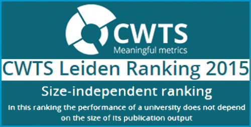 دانشگاه صنعتی اصفهان در صدر فهرست برترین دانشگاه های ایران در سال 2015