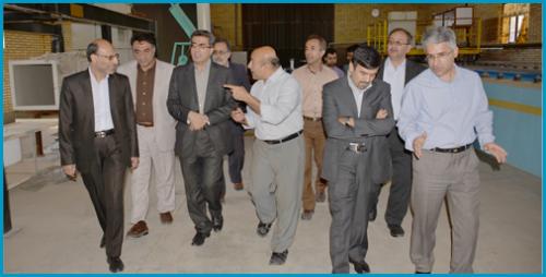 بازدیدمعاون پژوهش وفناوری وزیرعلوم ازظرفیت ها ودستاوردهای دانشگاه صنعتی اصفهان + گزارش تصویری